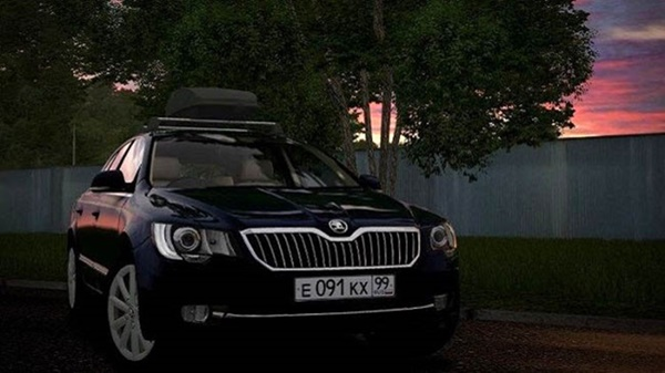 City Car Driving 1.5.9 – Skoda Superb 2014