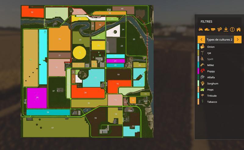 FS19 - USA Legend Map V1.0