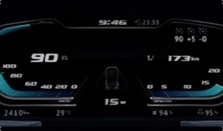ETS2 - DAF XG-XG+ Improved Dashboard (1.41.x)