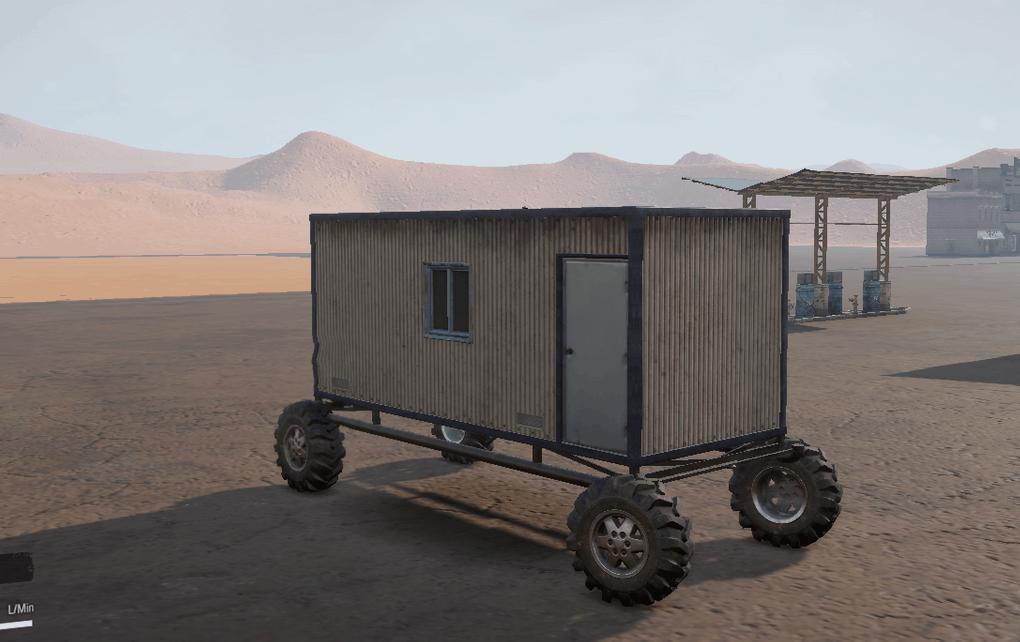 SnowRunner - Cargo Cabin 4x4 Truck V1