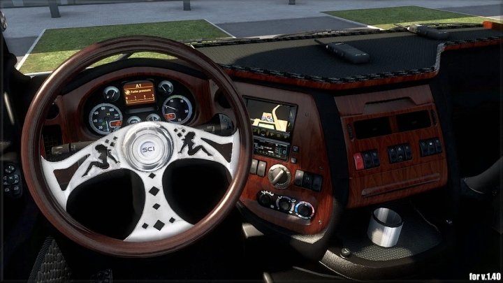 ATS Steering Creations Pack for ETS2 V1.4 (1.40.x)