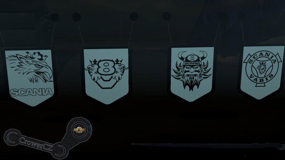 ETS2 - Scania Pennants Pack (1.39.x)