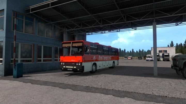 ETS2 - Ikarus 250-59 + Passengers (1.41.x)
