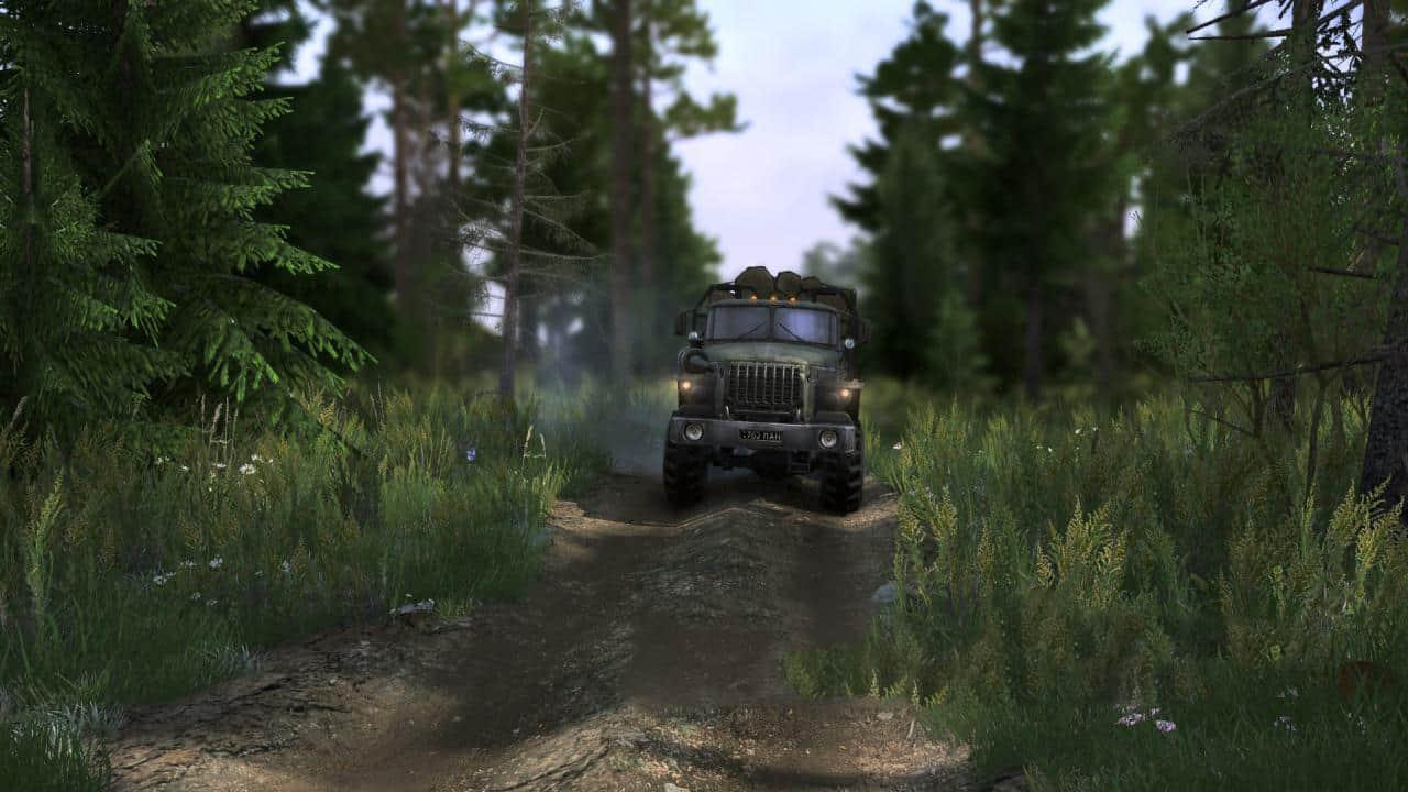 Spintires:Mudrunner - Realistic Graphics Adega Mod Pack V3.2 Fin + Sp