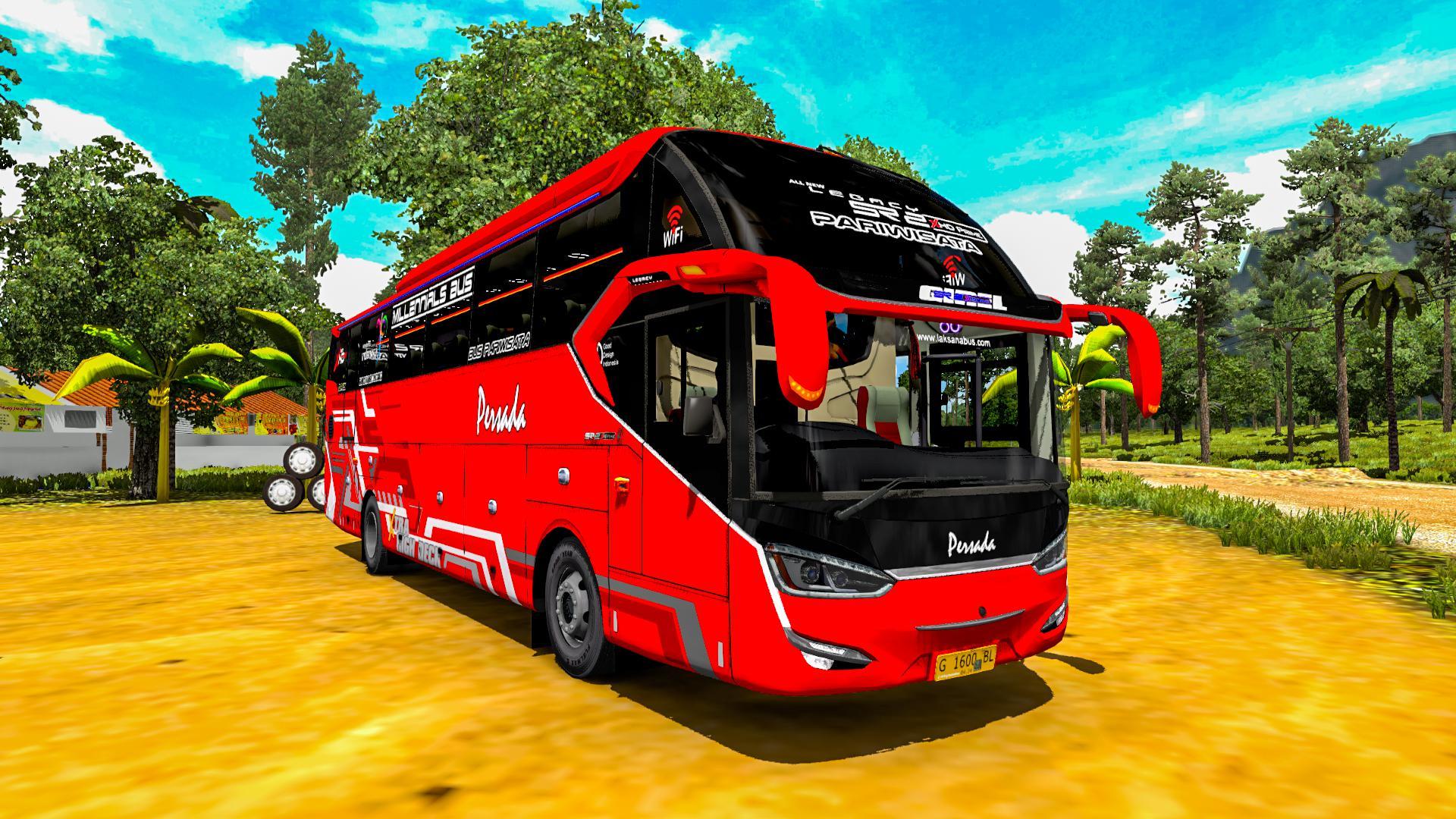 ETS2 - Laksana SR2 XHD Prime Bus (1.38.x)