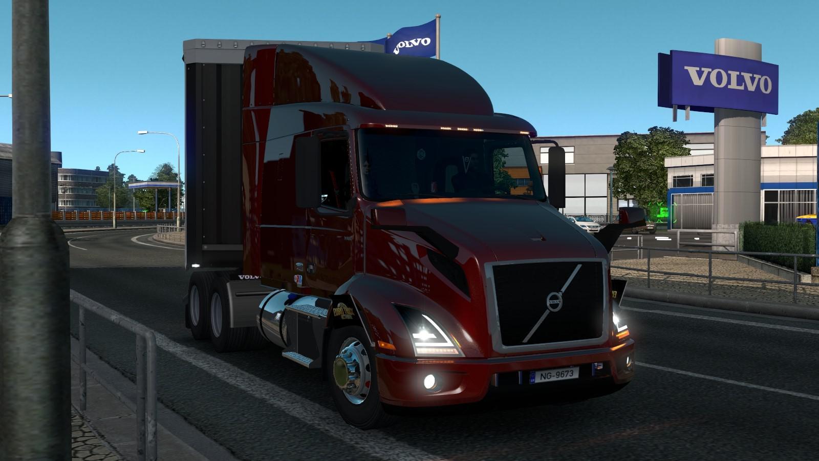 ETS2 - Volvo VNL 2019 V2.22 (1.36.X)