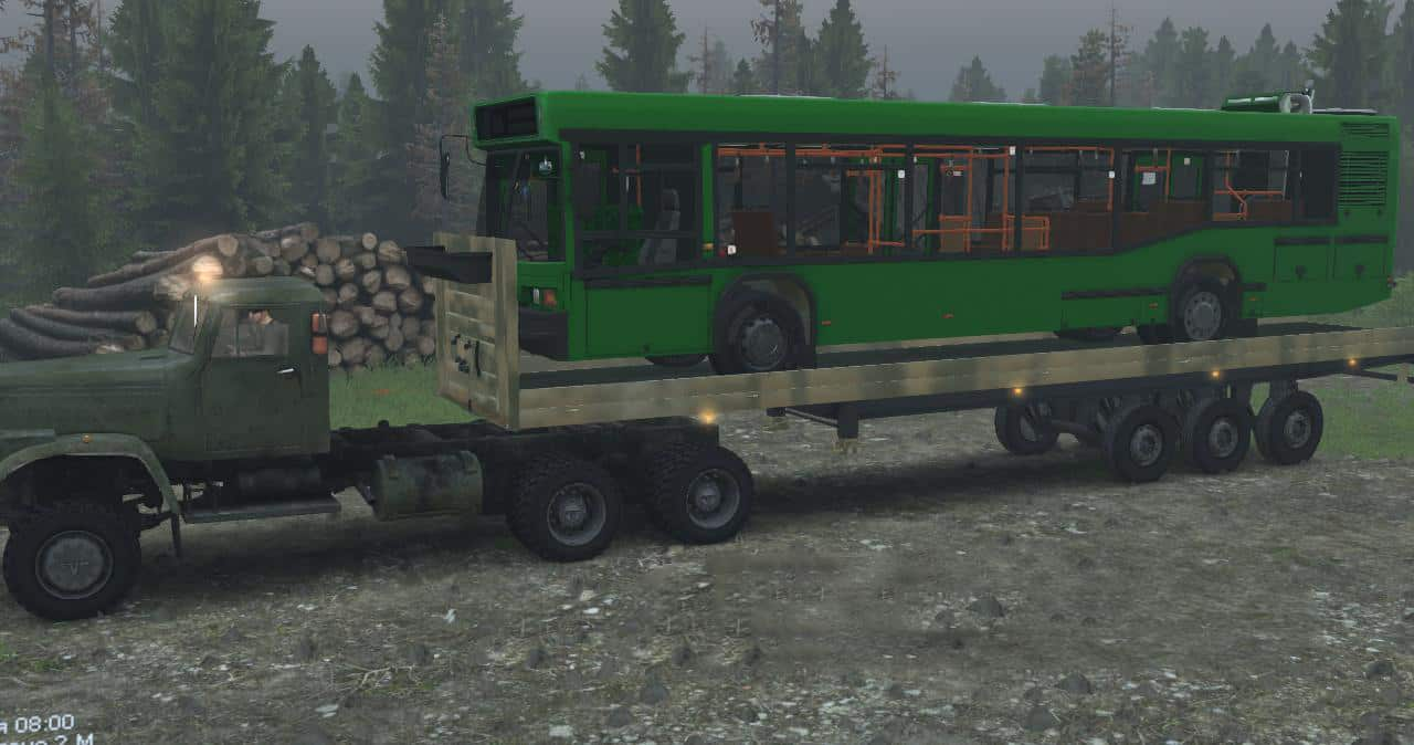 Spintires - Carriers N. 3 + Wheels V1.0