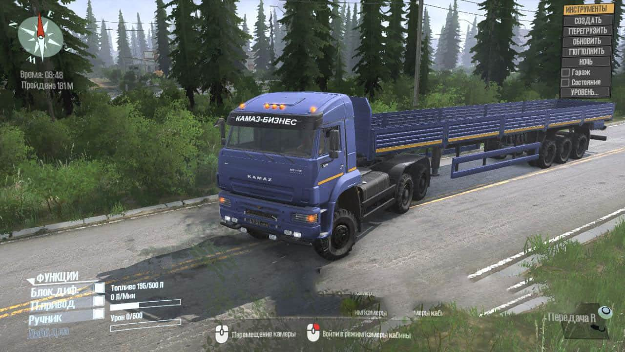 Spintires:Mudrunner - Kamaz Mod 65225 And 65228 V18.10.18