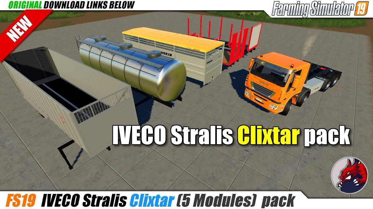FS19 - Clixtar Pack V19.1.0.2