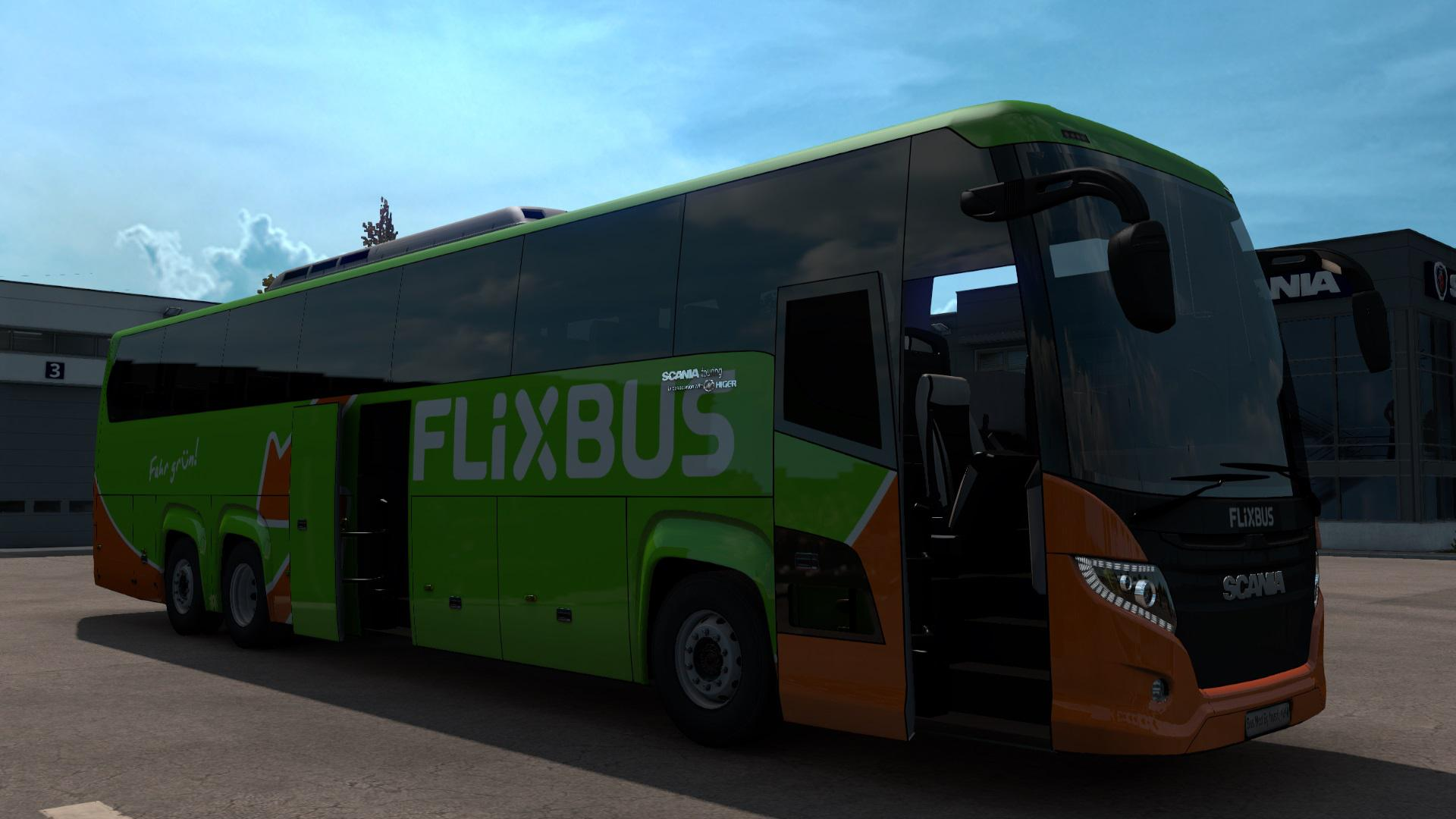 ETS2 - Scania Touring Bus (1.38.x)