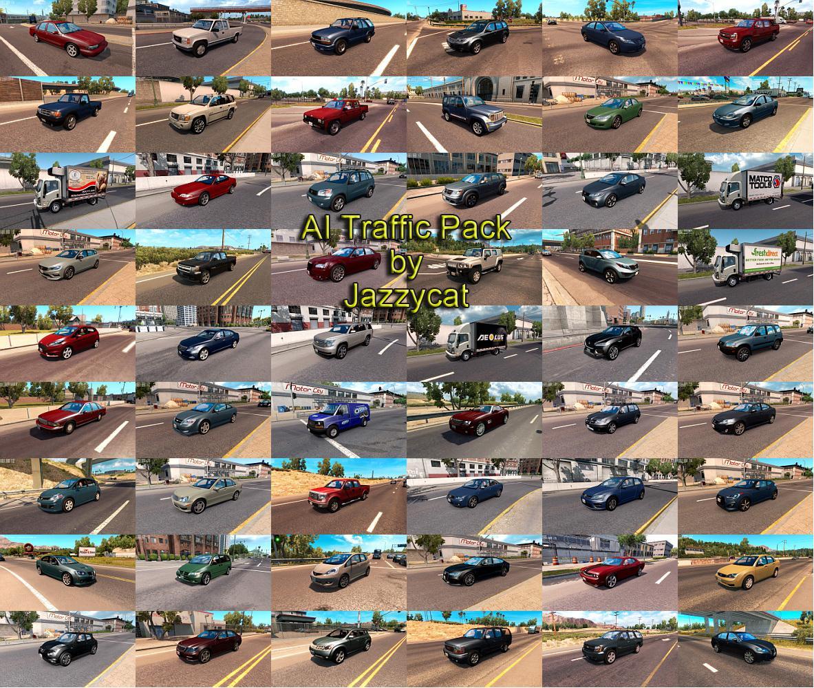 ATS - AI Traffic Pack V7.6 (1.36.x)