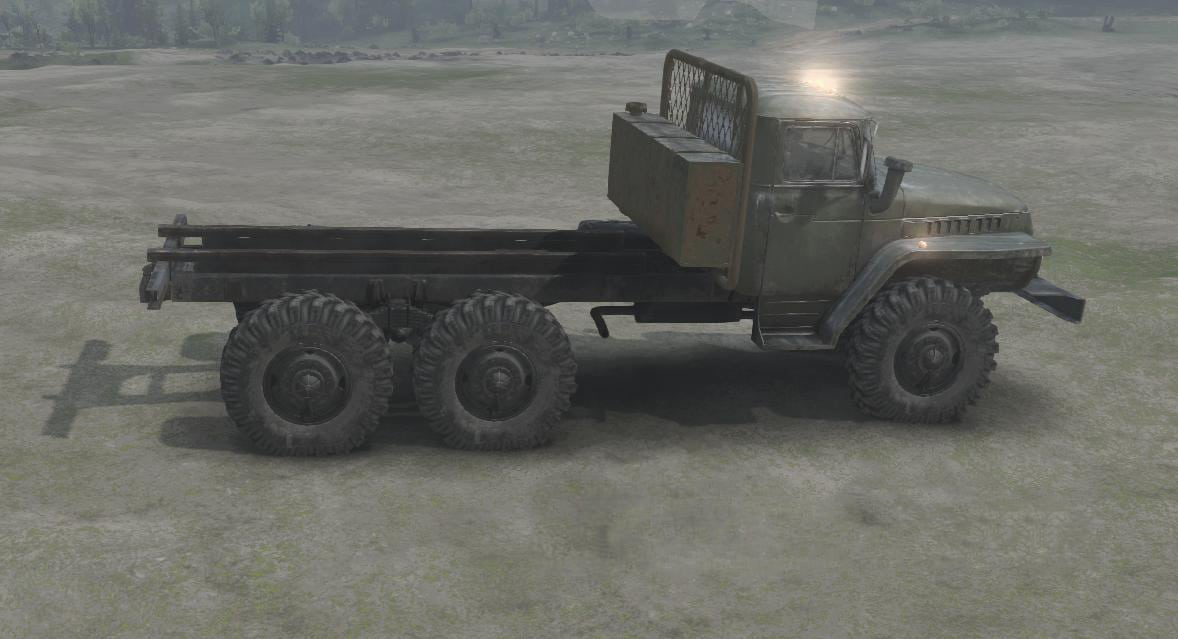 Spintires - Wall Behind The Cab V2