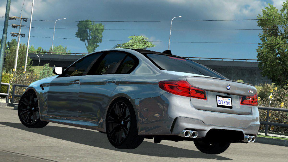 ATS - BMW M5 F90 Car Mod (1.35.x)