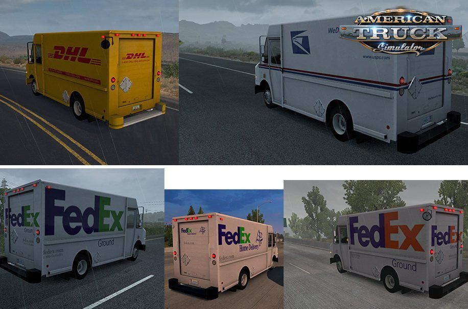 ATS - Chevy Step Van Pack in AI Traffic V1 (1.38.x)