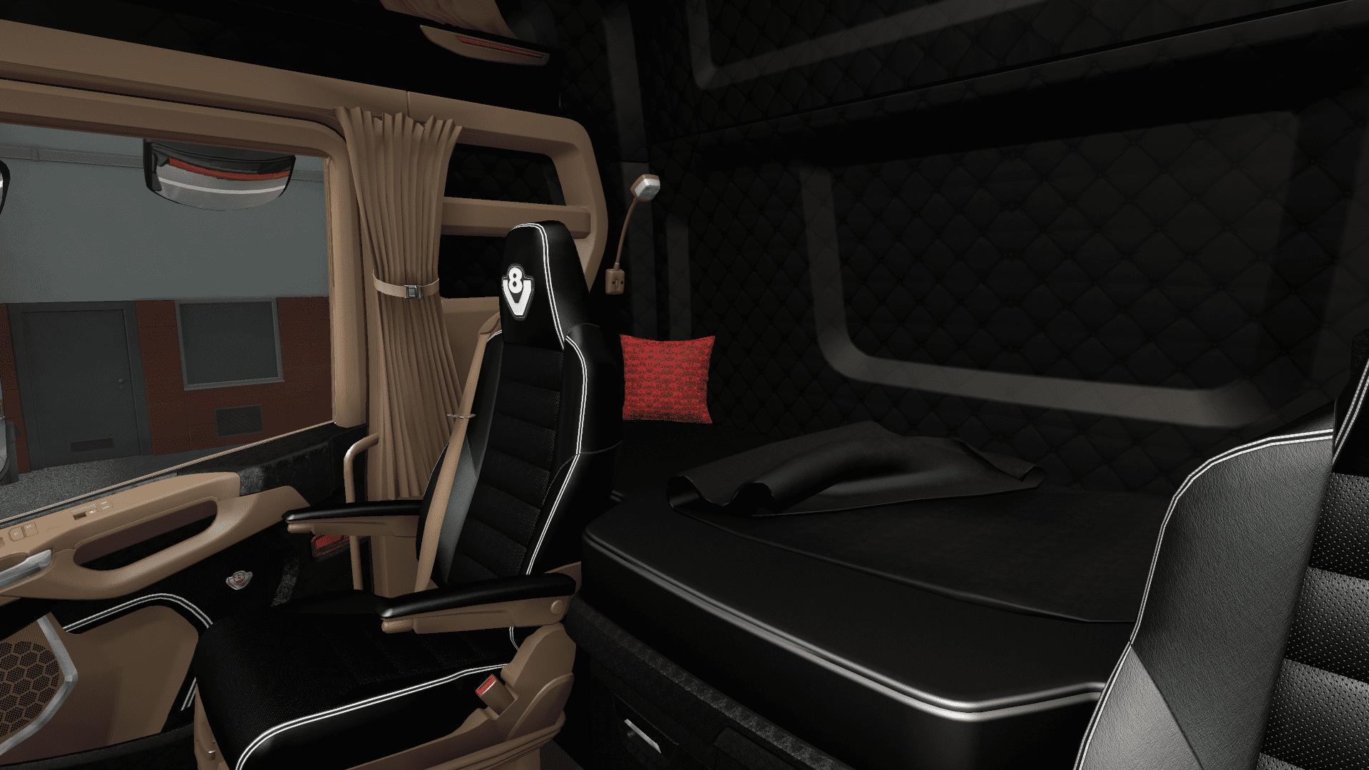 ETS2 - Pluche Pillow for All Trucks V1.0 (1.40.x)