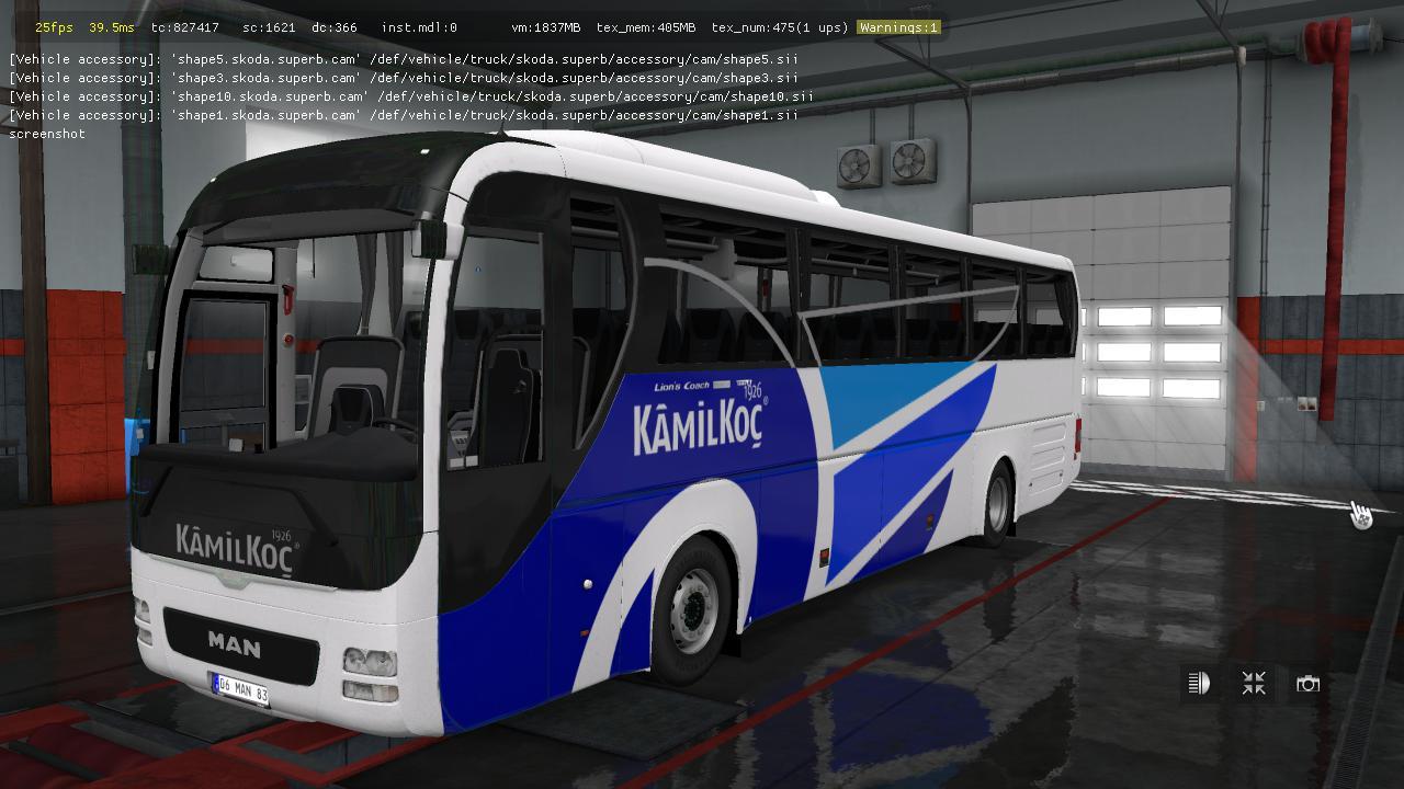 ETS2 - Man Lions Coach E6 V2.5 (1.36.x)