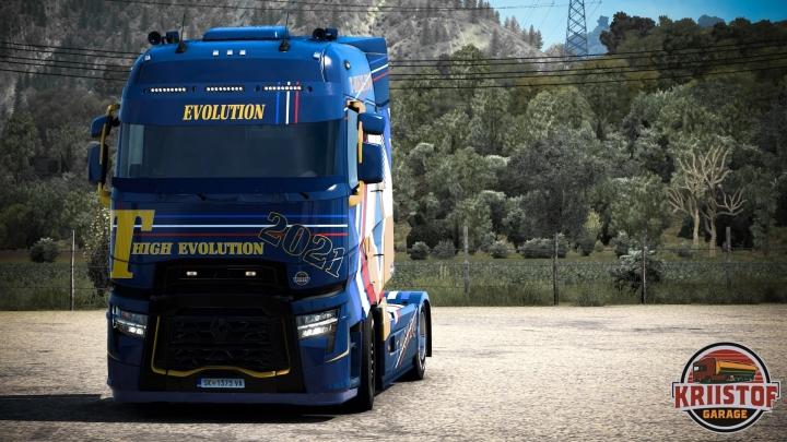 ETS2 - Renault Contest 2021 V1.0 (1.41.x)