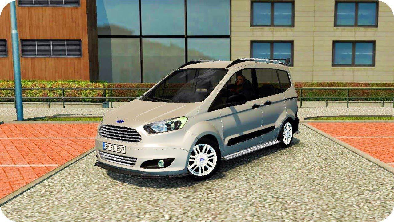 Ats Ford Tourneo Courier V1 2 1 37 X American Truck Simulator Mods Club