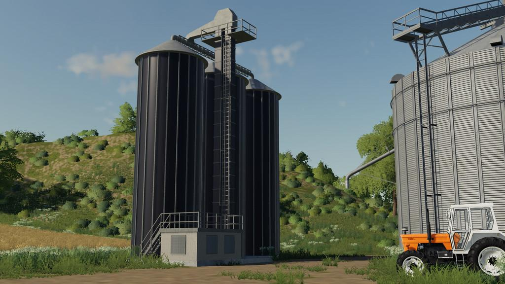 FS19 - Grain Silo Extension V1.0