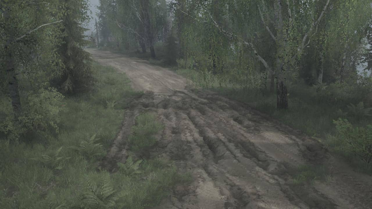 Spintires:Mudrunner - Forest Lakes Map V05.03.20