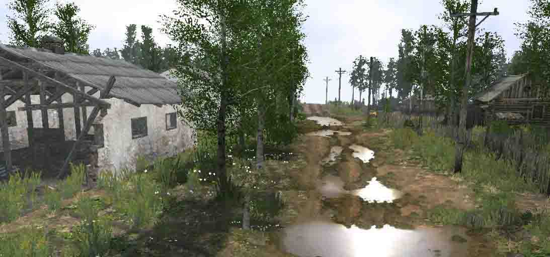 Spintires:Mudrunner - At the Foot Map V1