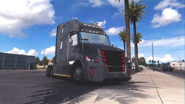 ATS - Freightliner Inspiration Truck V1.3 (1.41 - 1.40)