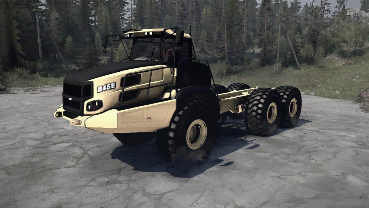 Spintires:Mudrunner - Bell B45E Truck V20.11.19