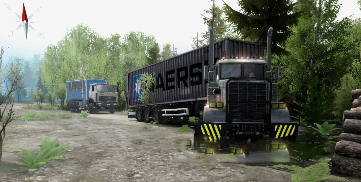 Spintires - Way Up or Goodbye Suspension Map