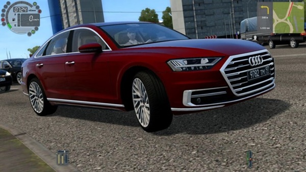City Car Driving 1.5.9 - Audi A8 4.0 TFSI Quattro 2018