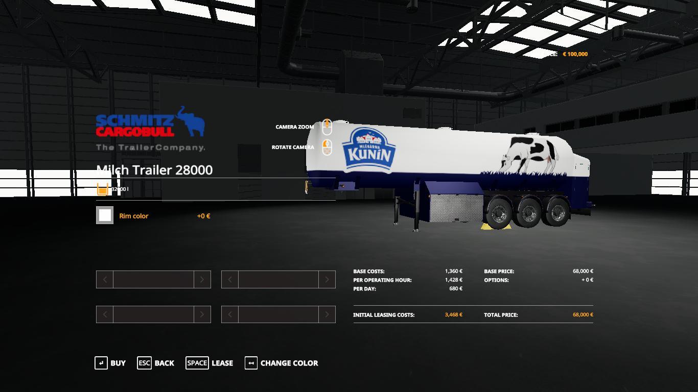 FS19 - Czech Trailer Mich Cistern V1.0