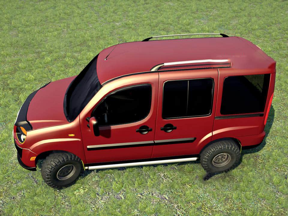 Spintires:Mudrunner - Fiat Doblo OffRoad V1.0