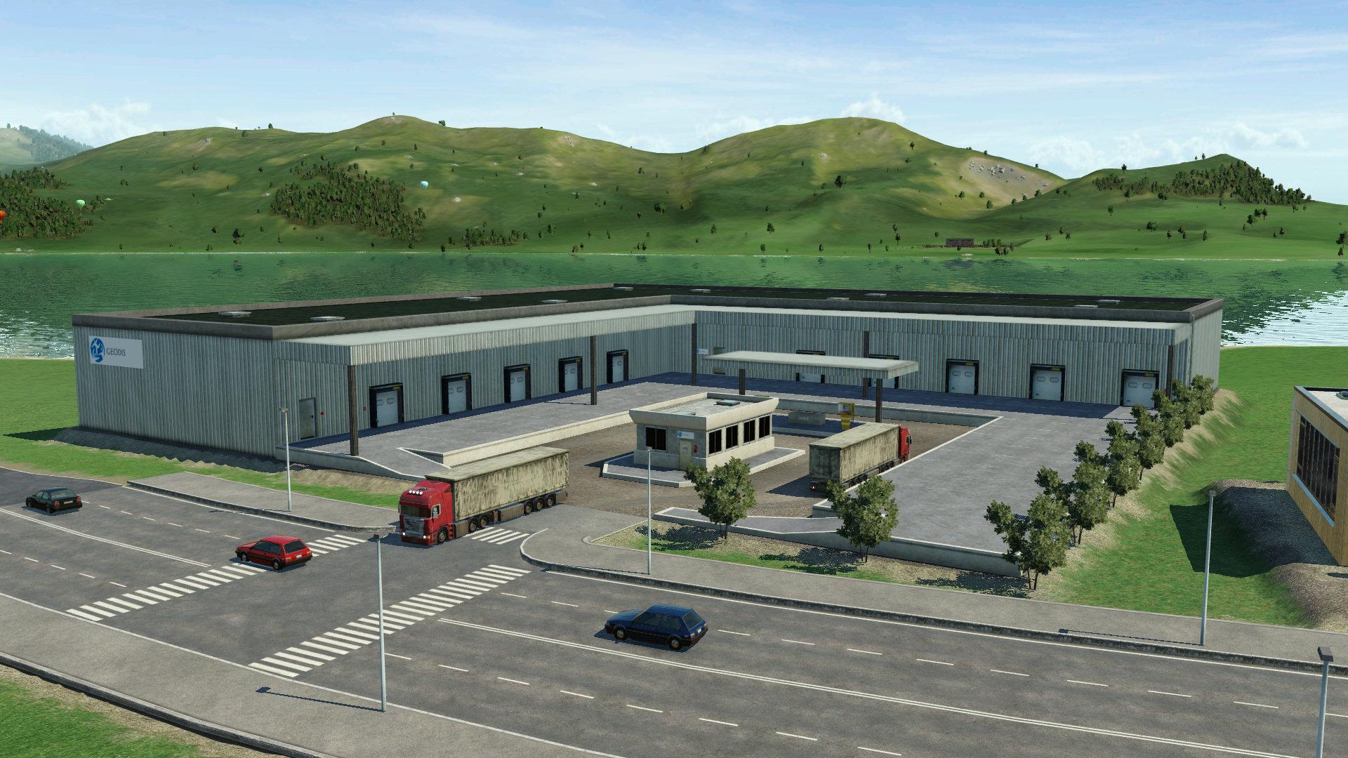 Transport Fever 2 - Geodis Truck Station