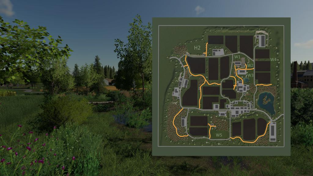 FS19 - Oberkrebach Map V1.0.0.1