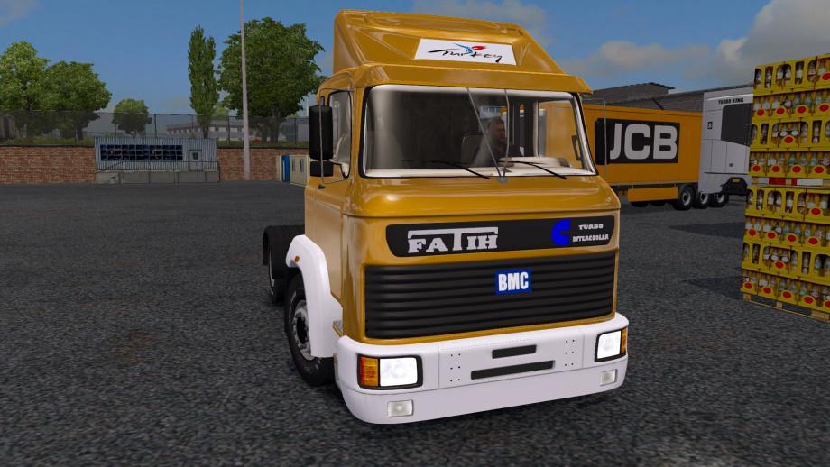 ETS2 - BMC Fatih 4x2 Truck (1.37.x)