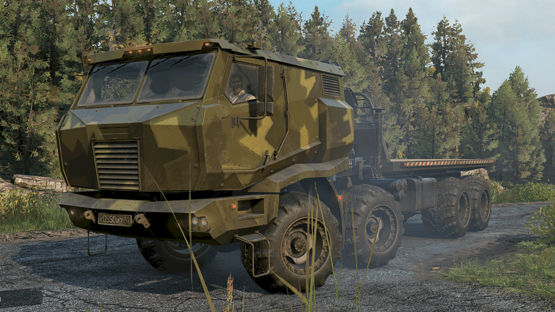 SnowRunner - Azov 5319 Arched Tires V1.0.1