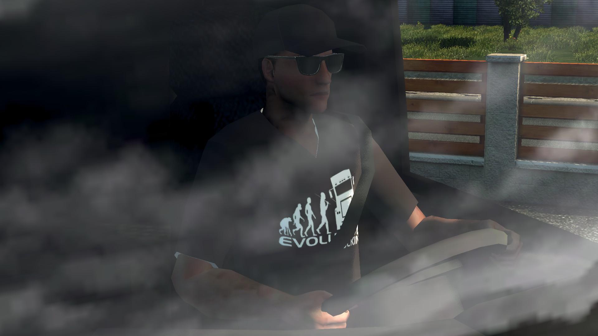 ETS2 - Truck Driver Skin – Evolution Trucking (1.35.X)