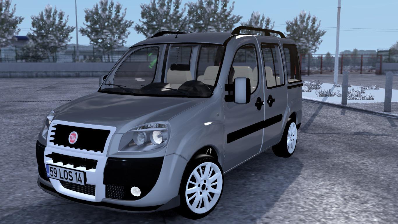 ETS2 - Fiat Doblo D2 V1R40 (1.38.x)