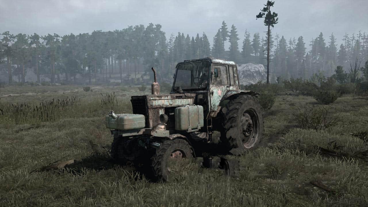 Spintires:Mudrunner - MTZ 80 - 82 Tractor V06.03.20