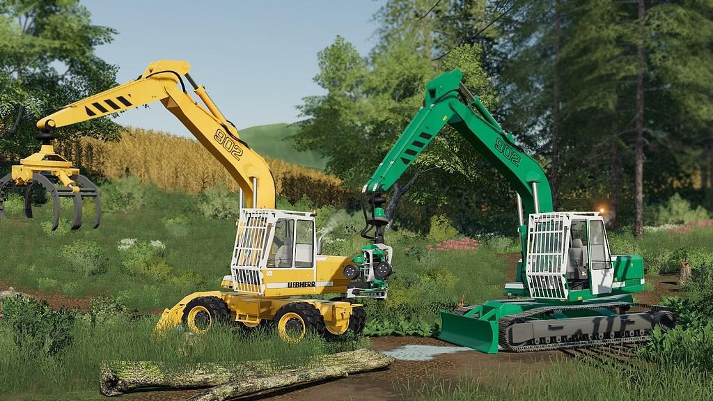 FS19 - Excavator Liebherr 902 Pack V1.0