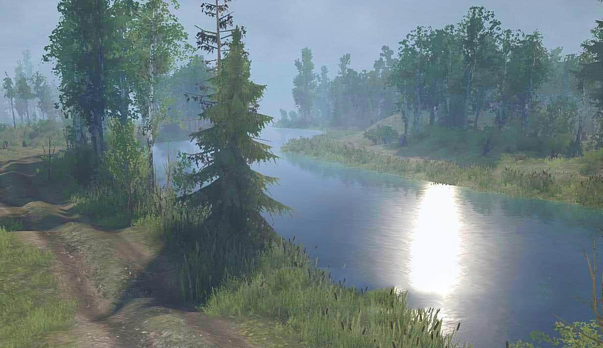 Spintires:Mudrunner - Long Road Map V1.1