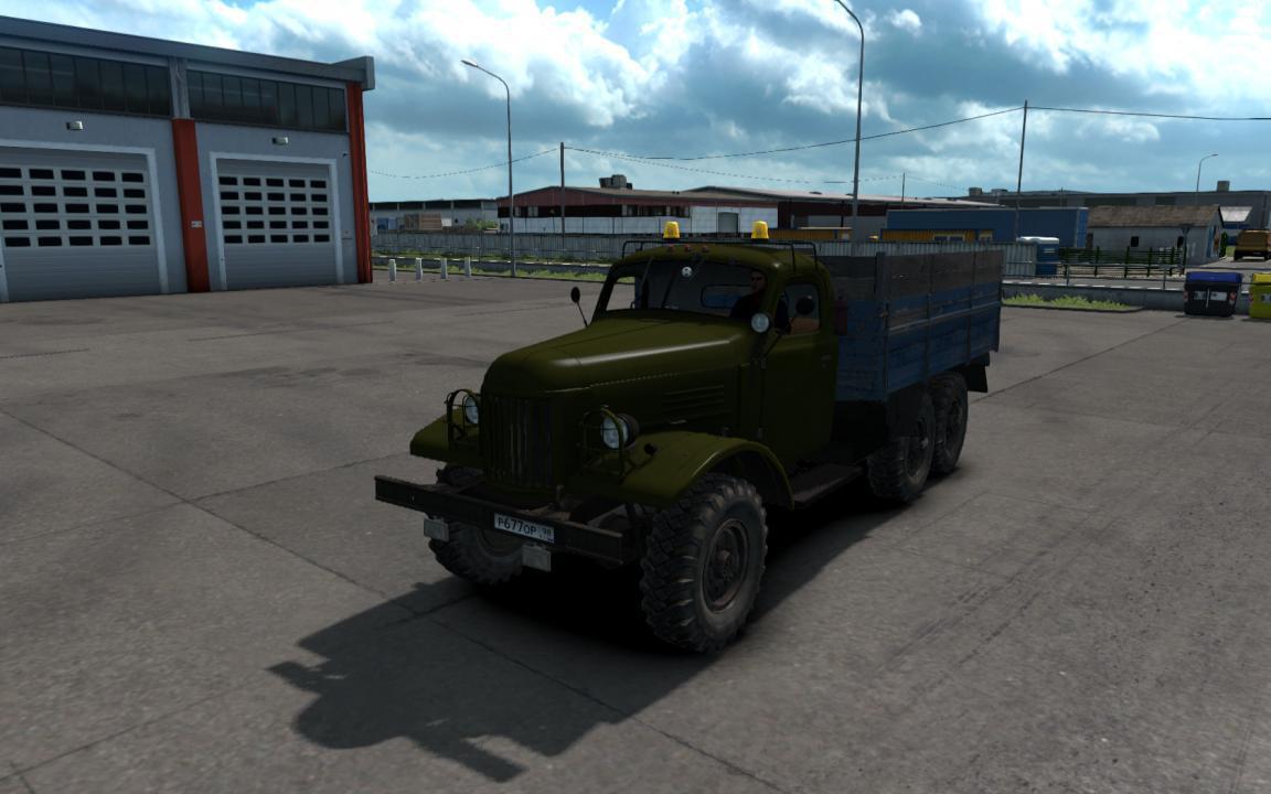ETS2 - Zil 157 Truck V1.4 Fixed (1.37 - 1.38)