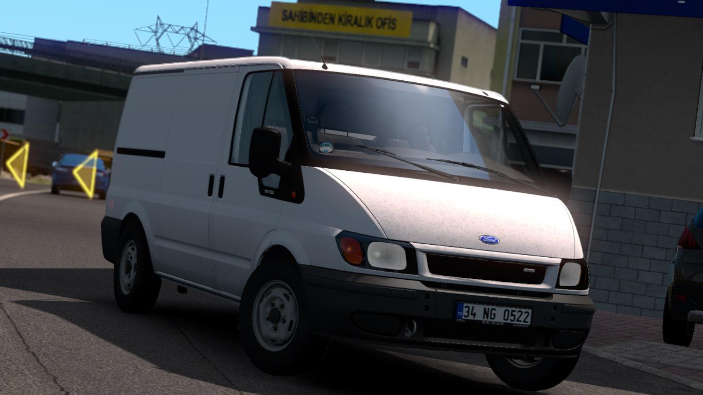 ETS2 - Ford Transit MK6 V1R50 (1.39.x)