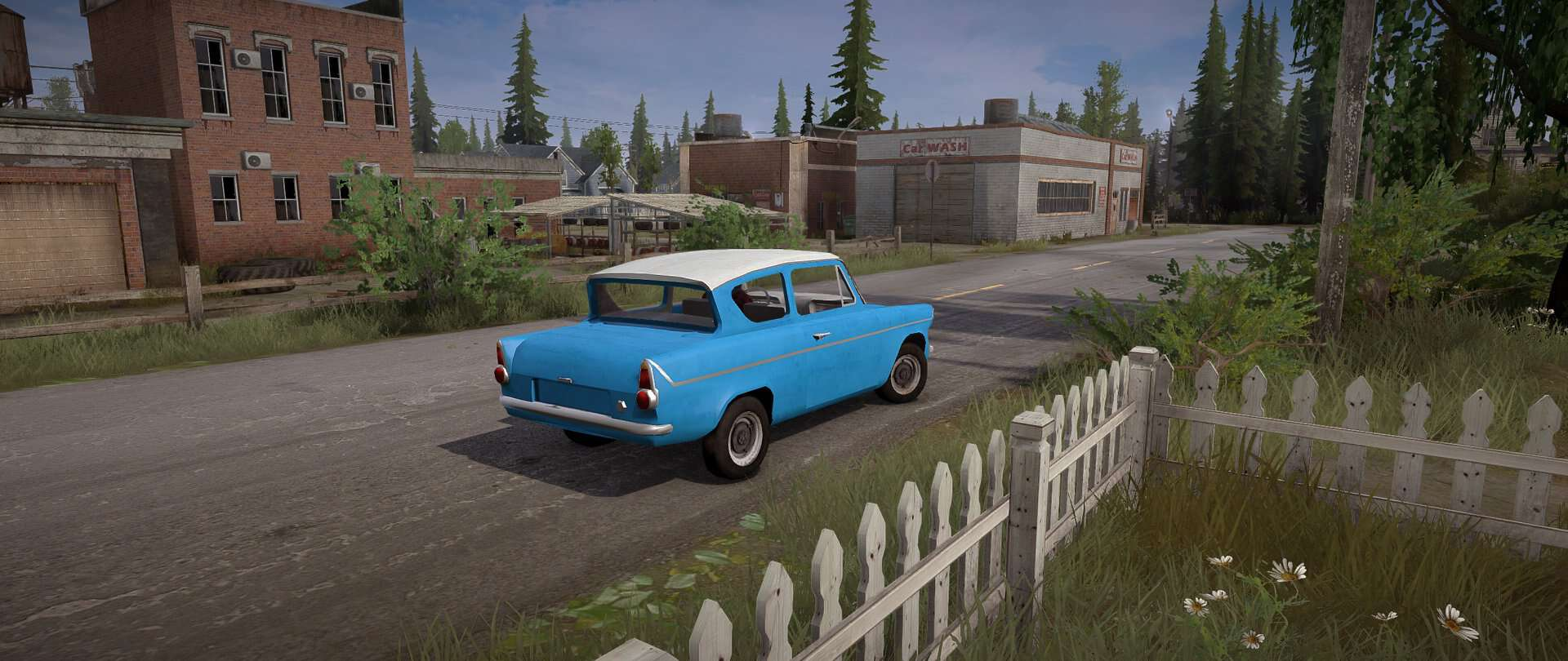 Spintires:Mudrunner - Ford Anglia 1959 Car Mod