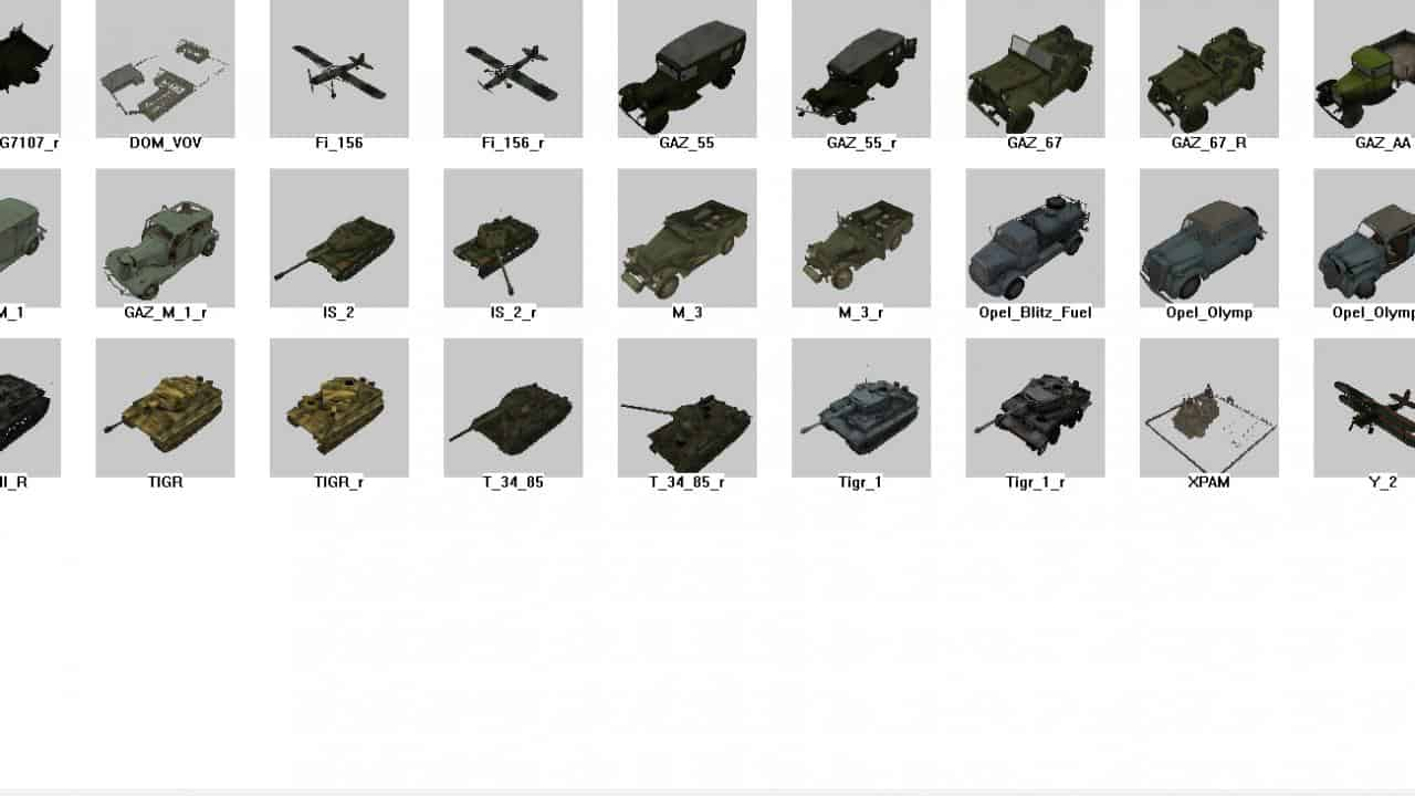 Spintires - Static Objects The Great Patriotic War Pack No 1 V1.1