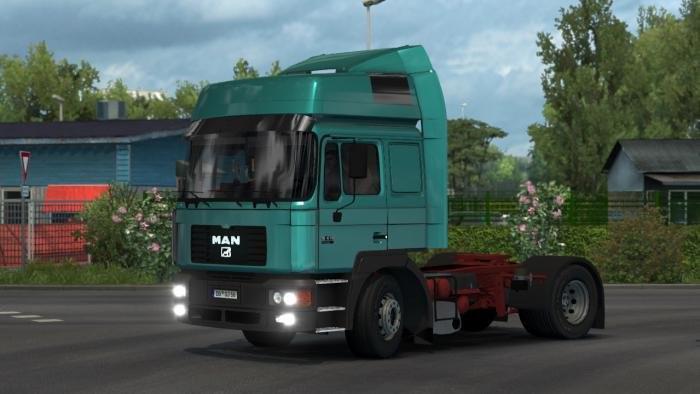 ETS2 - MAN F2000 19.604 Truck (1.35.X)