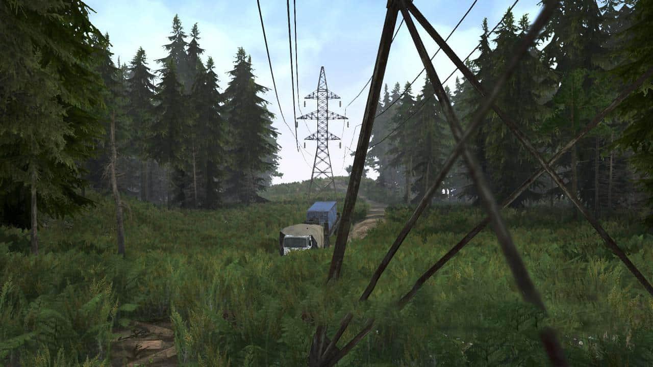 Spintires:Mudrunner - Ural 12: Rescue MZKT Map V1.0