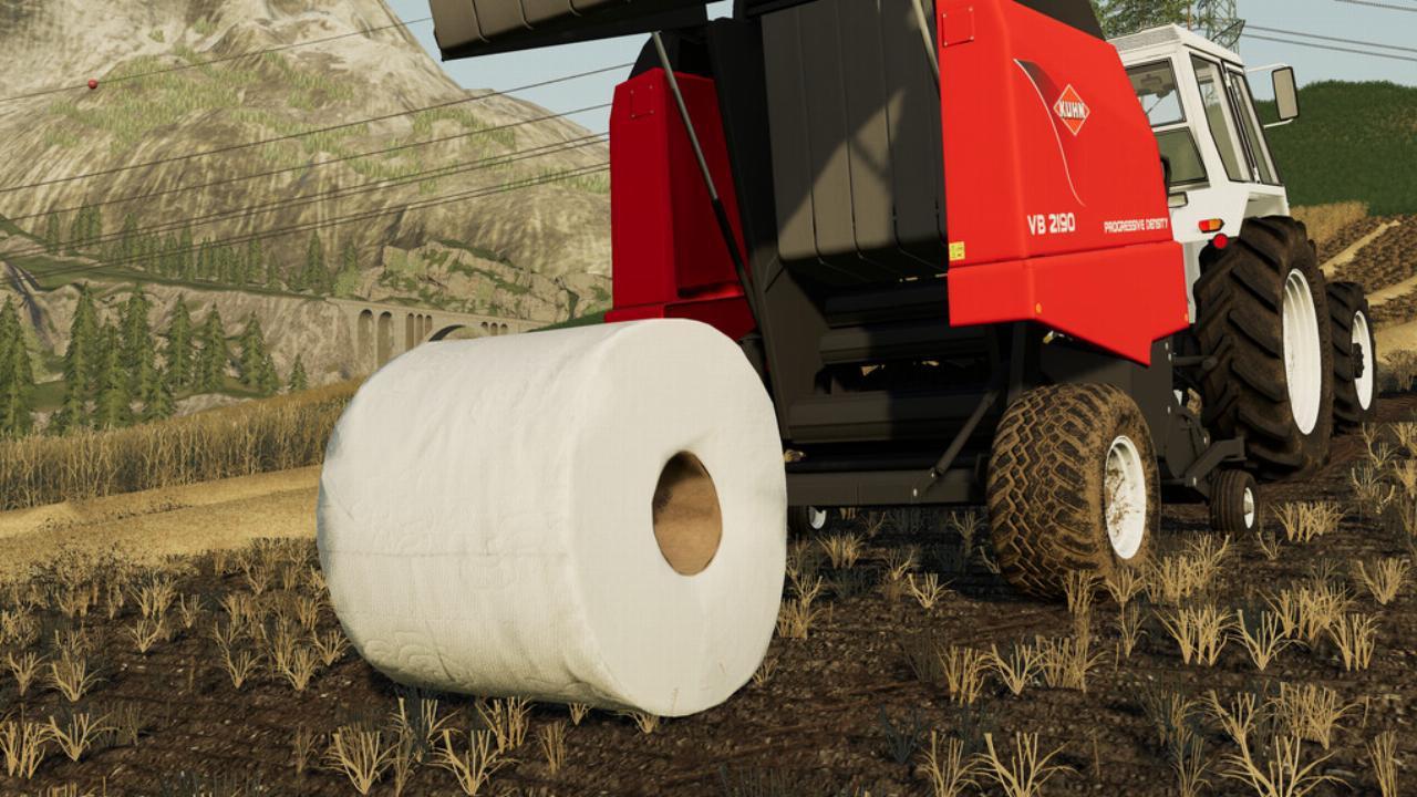 FS19 - Toilet Paper Skin V1.0