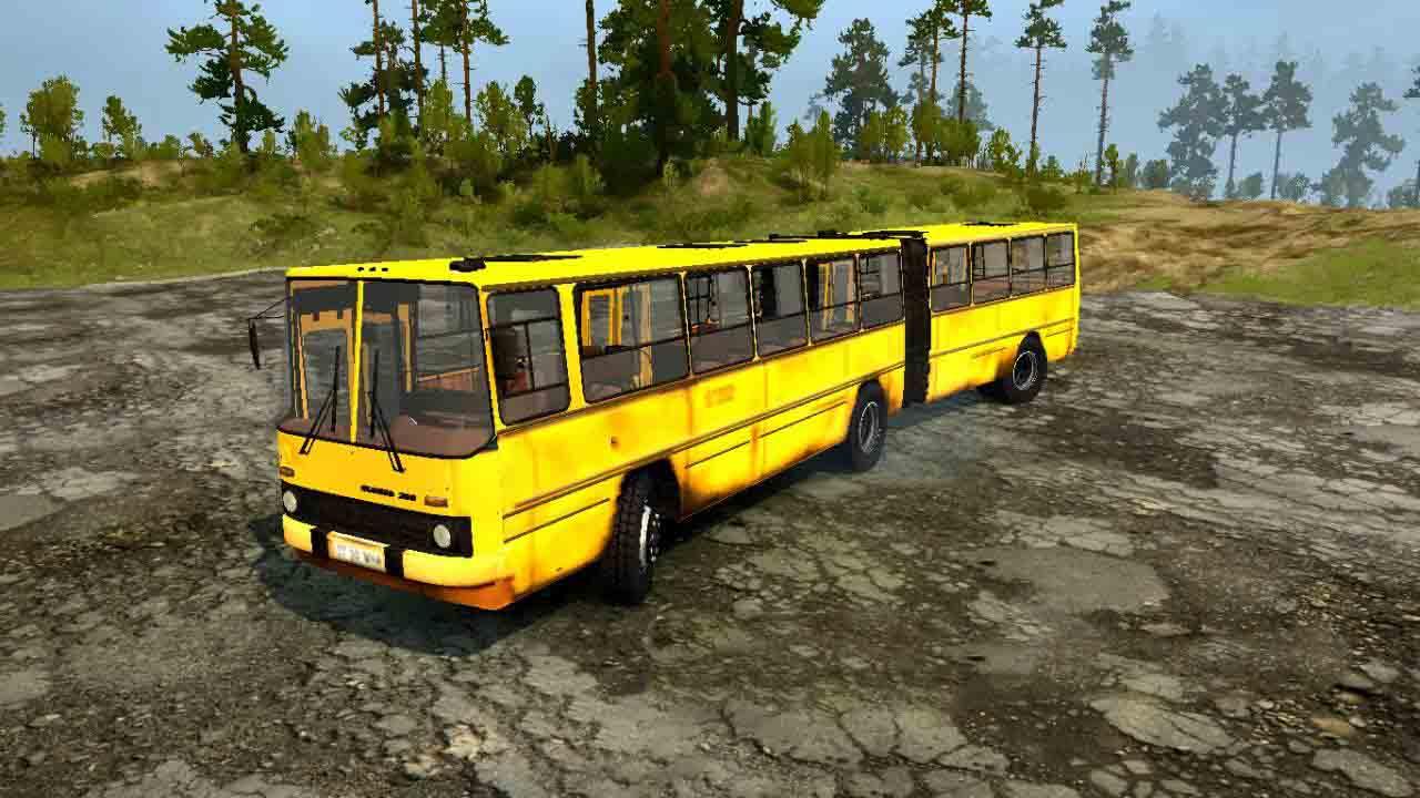 Spintires:Mudrunner - Ikarus 200 Bus V1