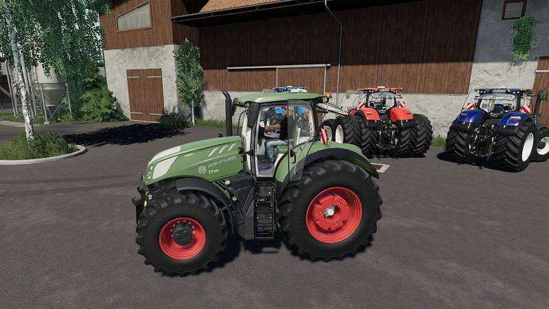FS19 - New Holland T7 Tractor V1.0