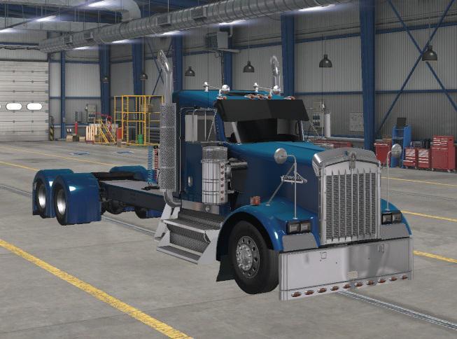 ATS - Kenworth W900 Long Truck (1.37.x)